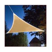 Sonnensegel Dreieckig 3,6x3,6x3,6 m mit LED Beleuchtung...