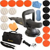 Exzenter Poliermaschine KB 810 W 15mm Hub mit Set M