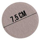 20x Schleifpapier Set 7,5 cm Durchmesser P400 Körnung
