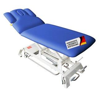 Elektrische Massageliege Houston Blau