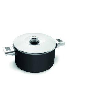 Woll Diamond XR Logic Pro Induktion Kochtopf mit Deckel 24 cm 4,5 Liter