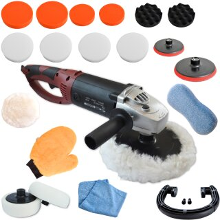 Polisher KB 1500W with large set 2