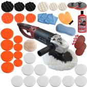 Polisher  KB 1500W with large set 5