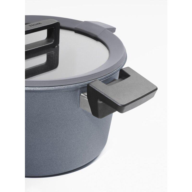 gusstopf kochtopf mit glasdeckel 28 cm 7 5 liter concept. Black Bedroom Furniture Sets. Home Design Ideas