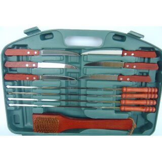 Grillset Grill Set, Barbecue Set 16 tlg.