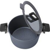 Kochtopf mit Deckel 28 cm 7,5 Liter + Siebeinsatz Concept-Plus - Woll