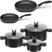 Ballarini Click & Cook Cooking set pot Saucepan...