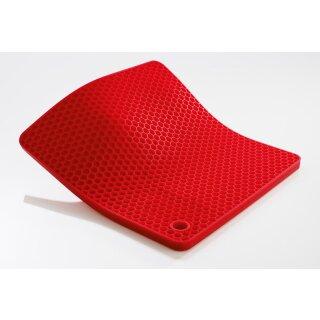 Silikon-Topflappen 19 x 19 cm - Woll