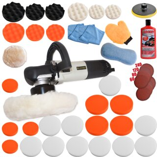 Polisher Dual Action KB 710W with set 5