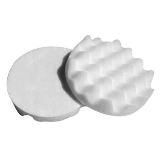 Honeycombed 2x Polishing Pad, beige 150 mm, SOFT
