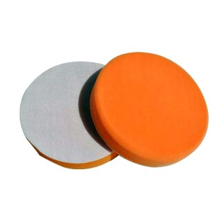 2x Polierschwamm orange 180mm, MEDIUM