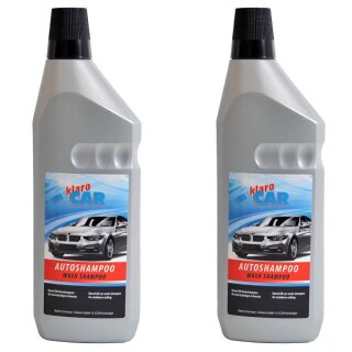 2x Car shampoo 1000 ml, high gloss sealant 4,00 EUR / liter