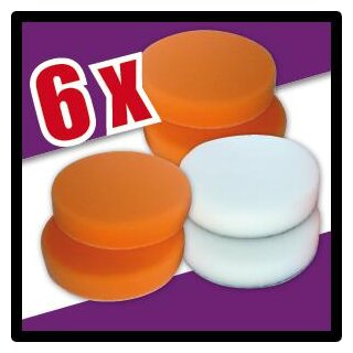 Polishing pads set 1 HP, 6 pieces