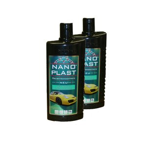 2x Nano Car Polish 500ml plastic, sealing 11.99 EUR / liter