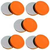10x Polierschwamm orange 150mm, MEDIUM