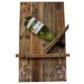"""Bottle Rack """" Easy """" from palettenholz for One..."""